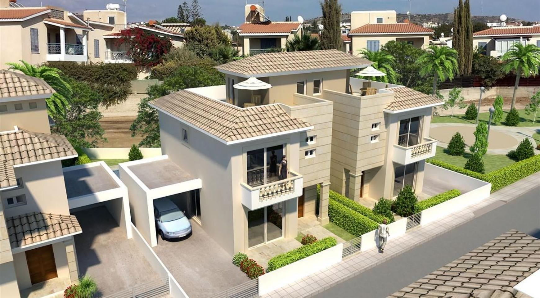 Modern 3 Bedroom Villa in New Project in Paphos - 26
