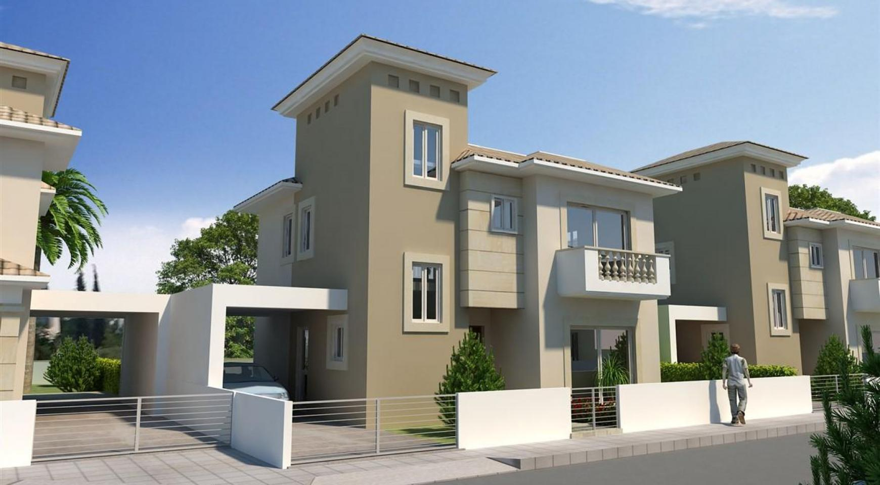 3 Bedroom Villa in New Project in Paphos - 14