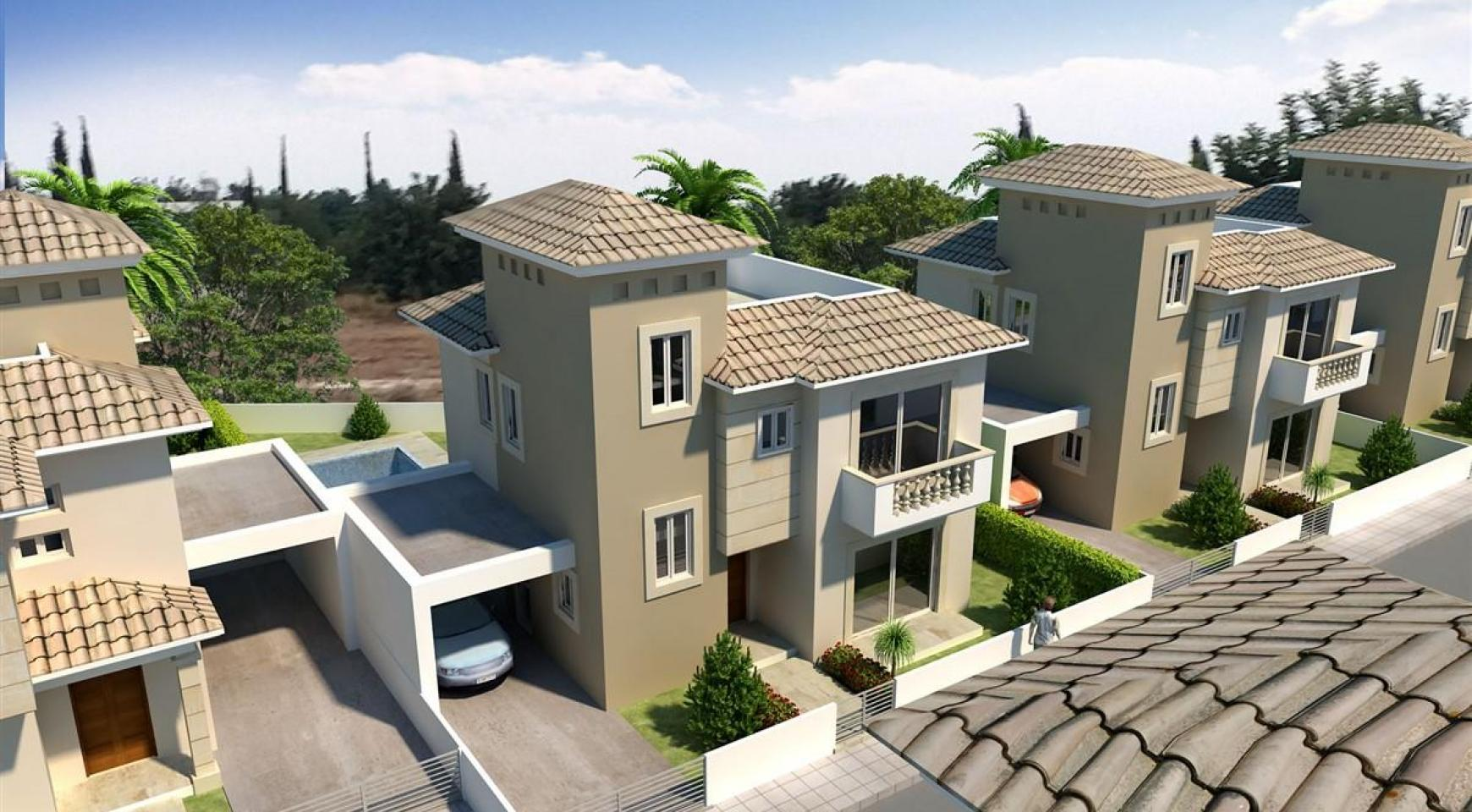 3 Bedroom Villa in New Project in Paphos - 4