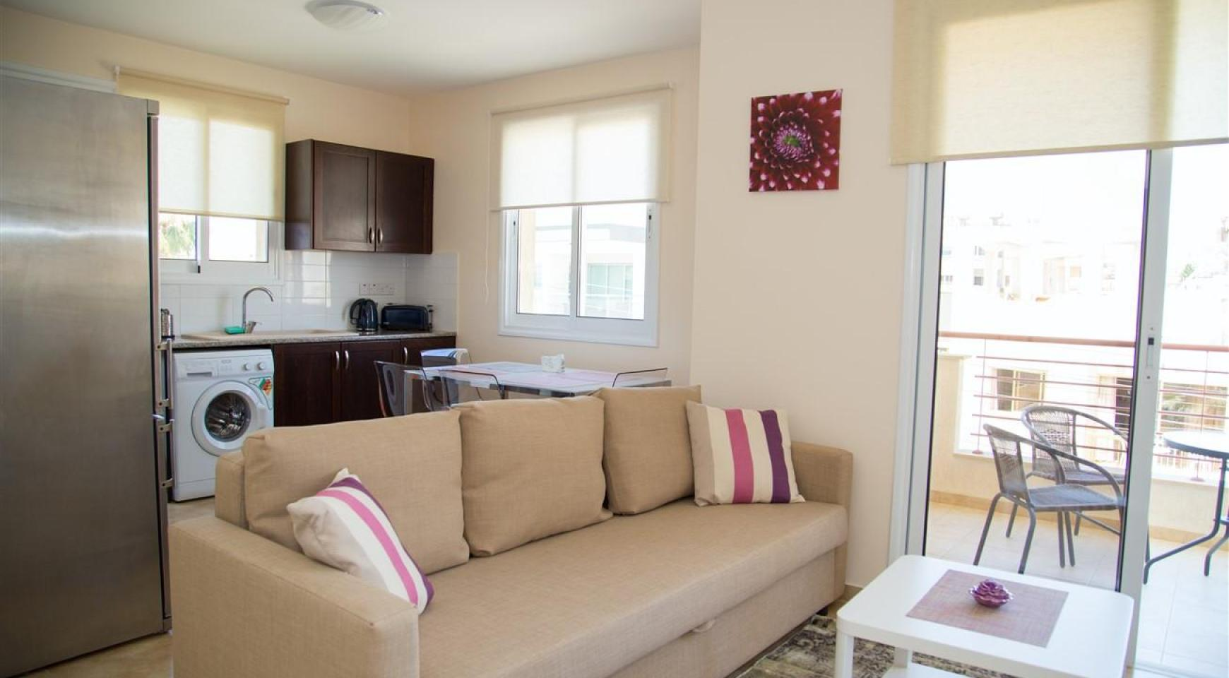 Frida Court. Cozy Spacious One Bedroom  Apartment 104 in potamos Germasogeia - 3