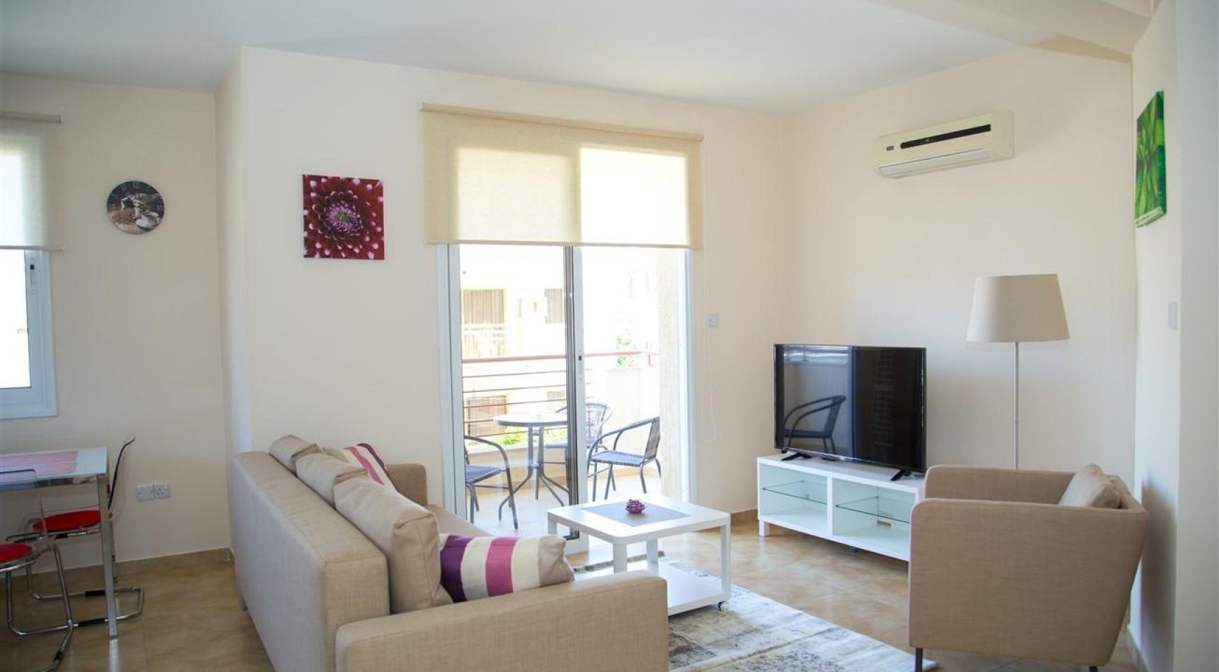 Frida Court. Cozy Spacious One Bedroom  Apartment 104 in potamos Germasogeia - 1