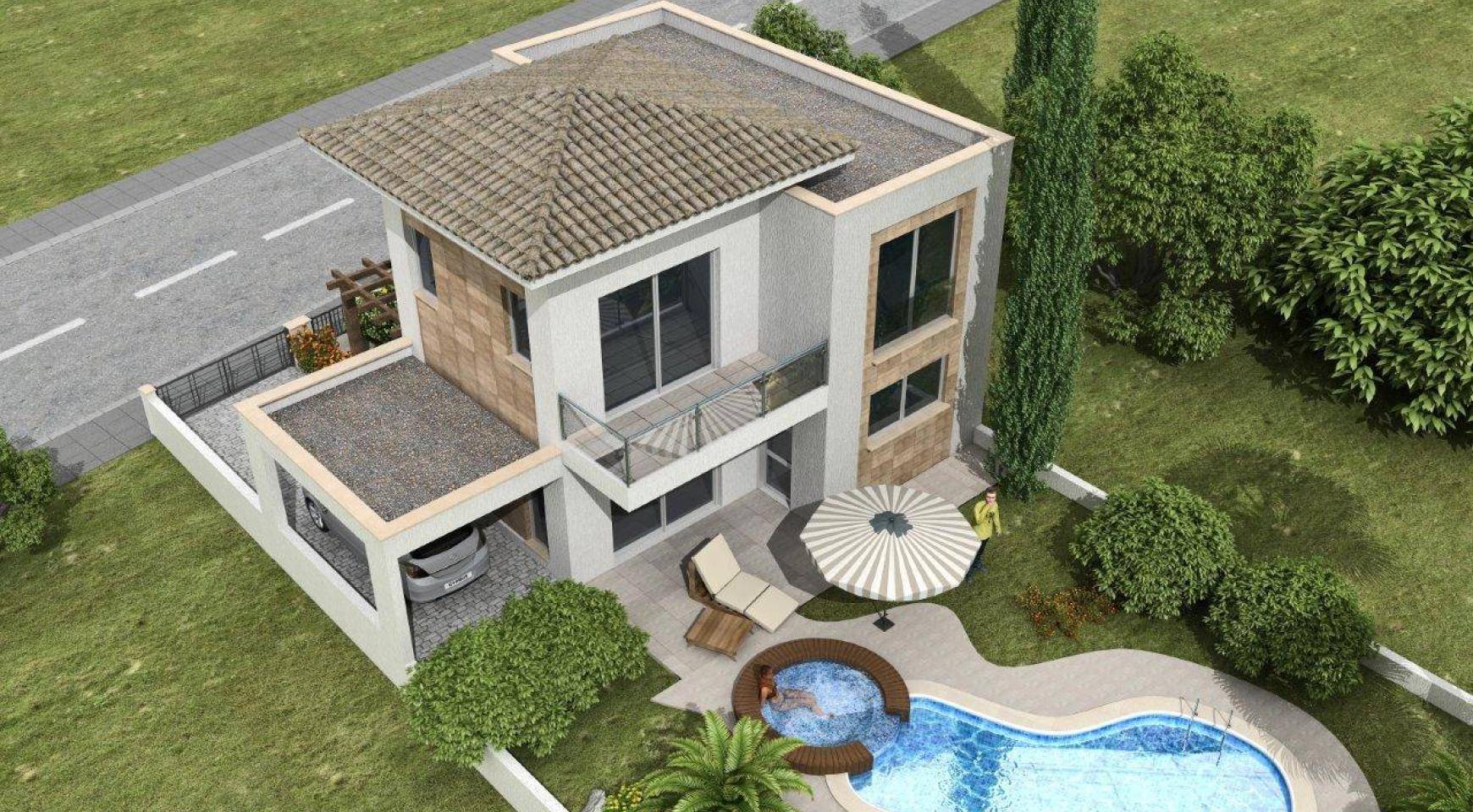 New 3 Bedroom Villa in a Contemporary Development in Moni - 2