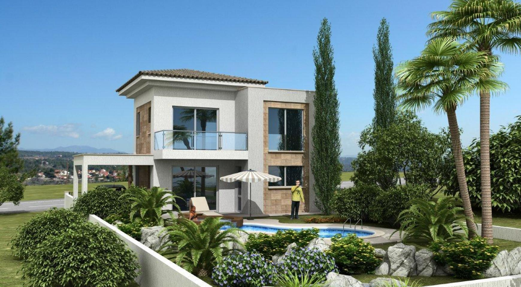 New 3 Bedroom Villa in a Contemporary Development in Moni - 1