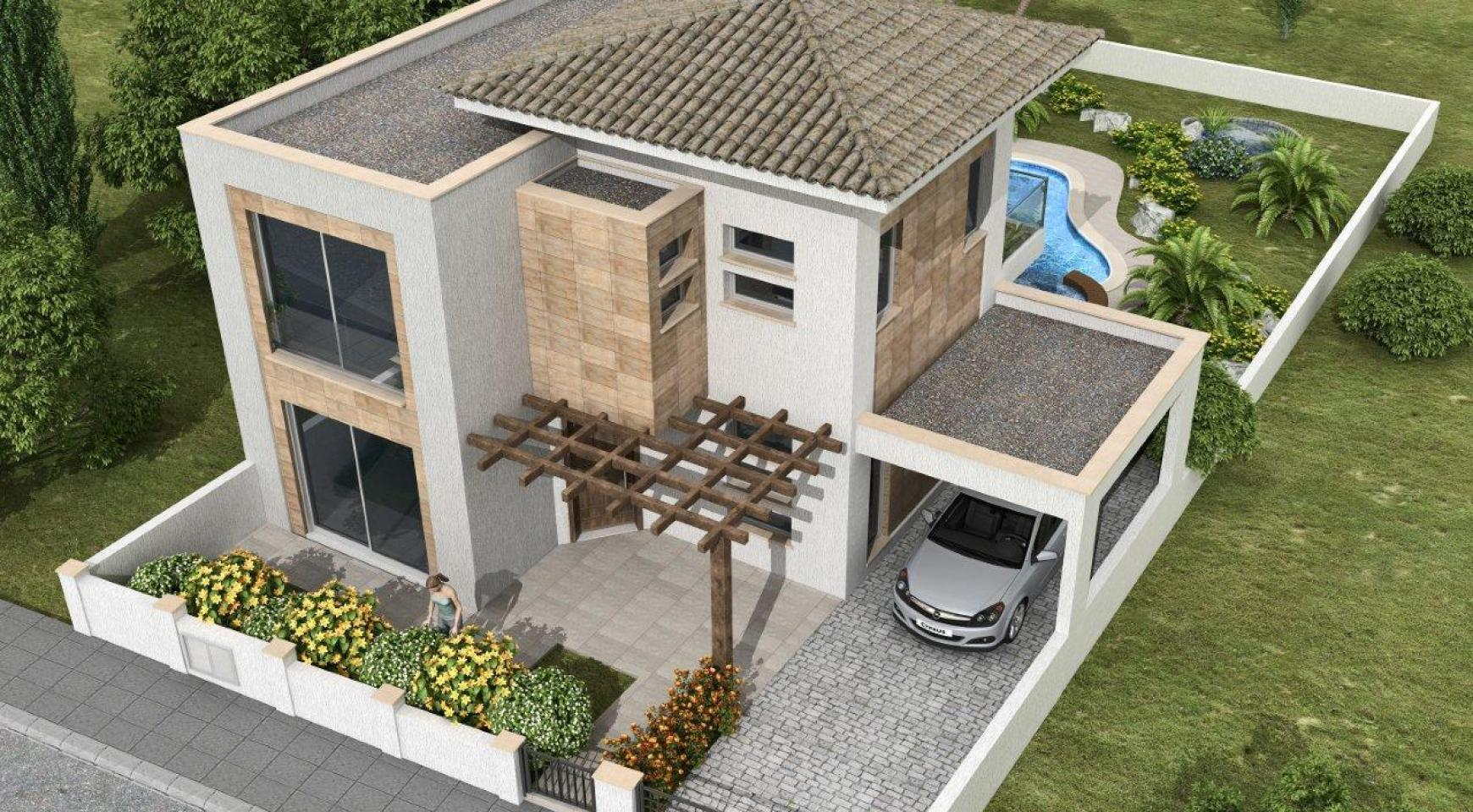 New 3 Bedroom Villa in a Contemporary Development in Moni - 4
