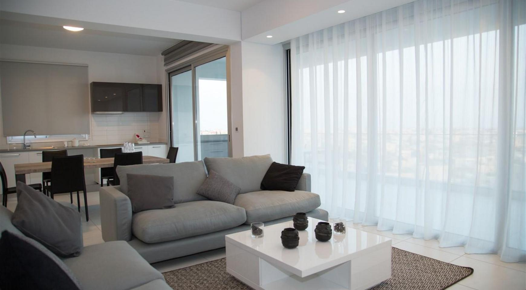 Spacious Luxury 3 Bedroom Apartment in a New Complex - 17