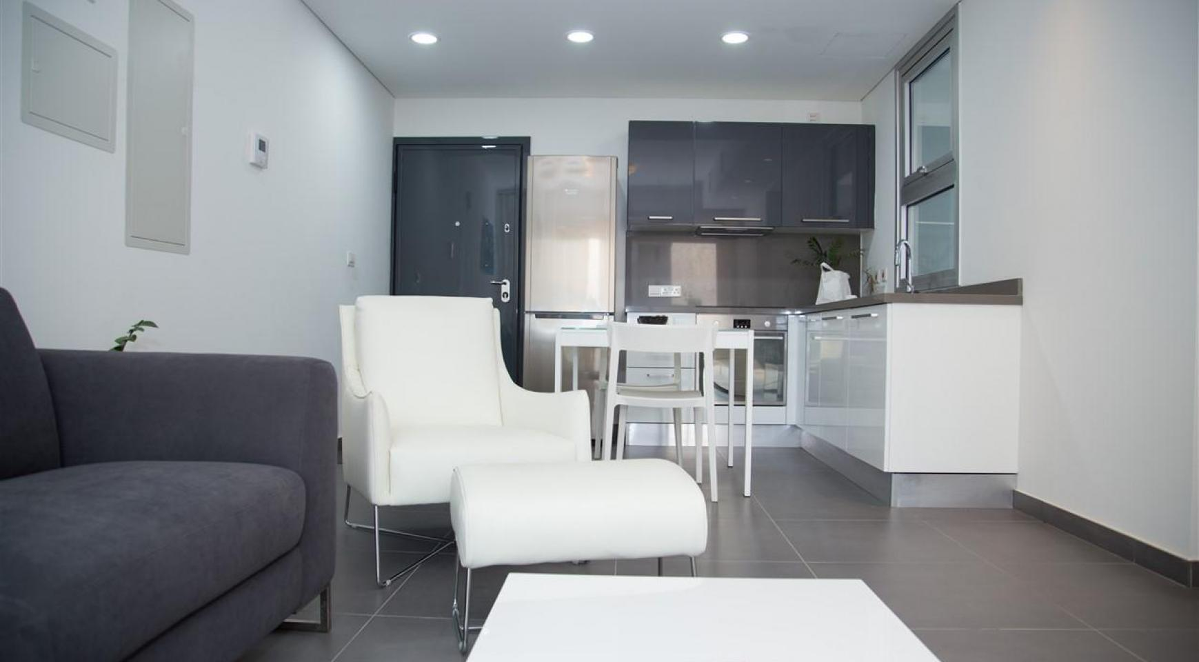 Luxury 2 Bedroom Top-Floor Apartment in a New Complex - 26