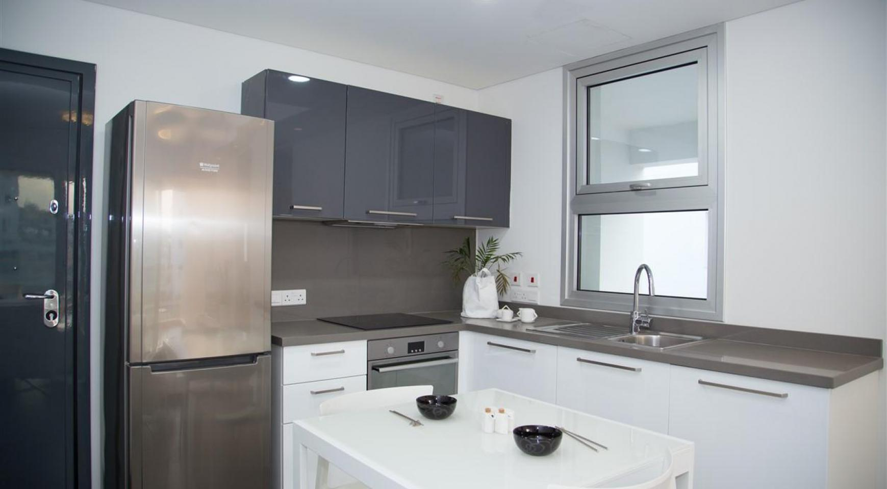 Luxury 2 Bedroom Top-Floor Apartment in a New Complex - 25
