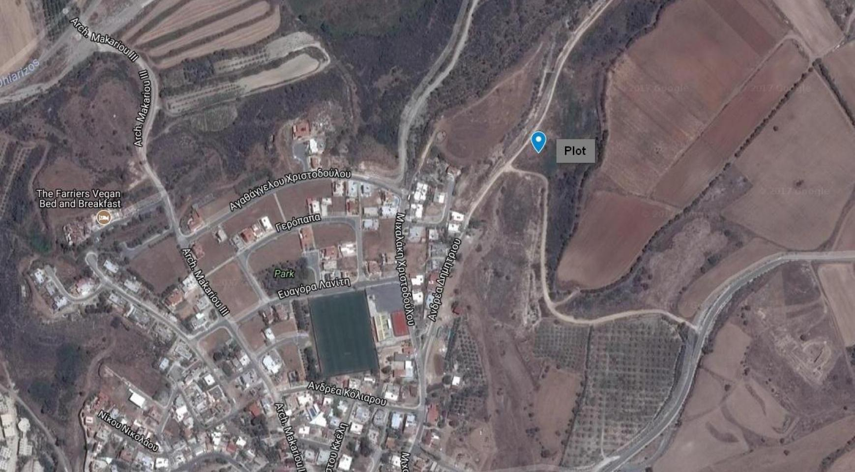 Large Building Plot with Sea Views in Kouklia - 1