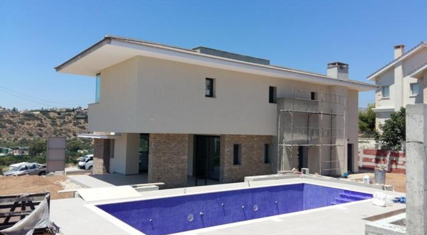 New Luxury 3+1 Bedroom Villa with Sea Views in Mesovounia - 3