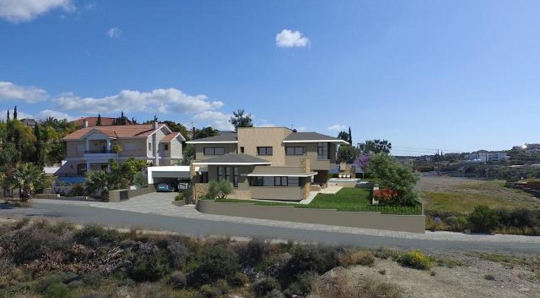 New Luxury 3+1 Bedroom Villa with Sea Views in Mesovounia - 2