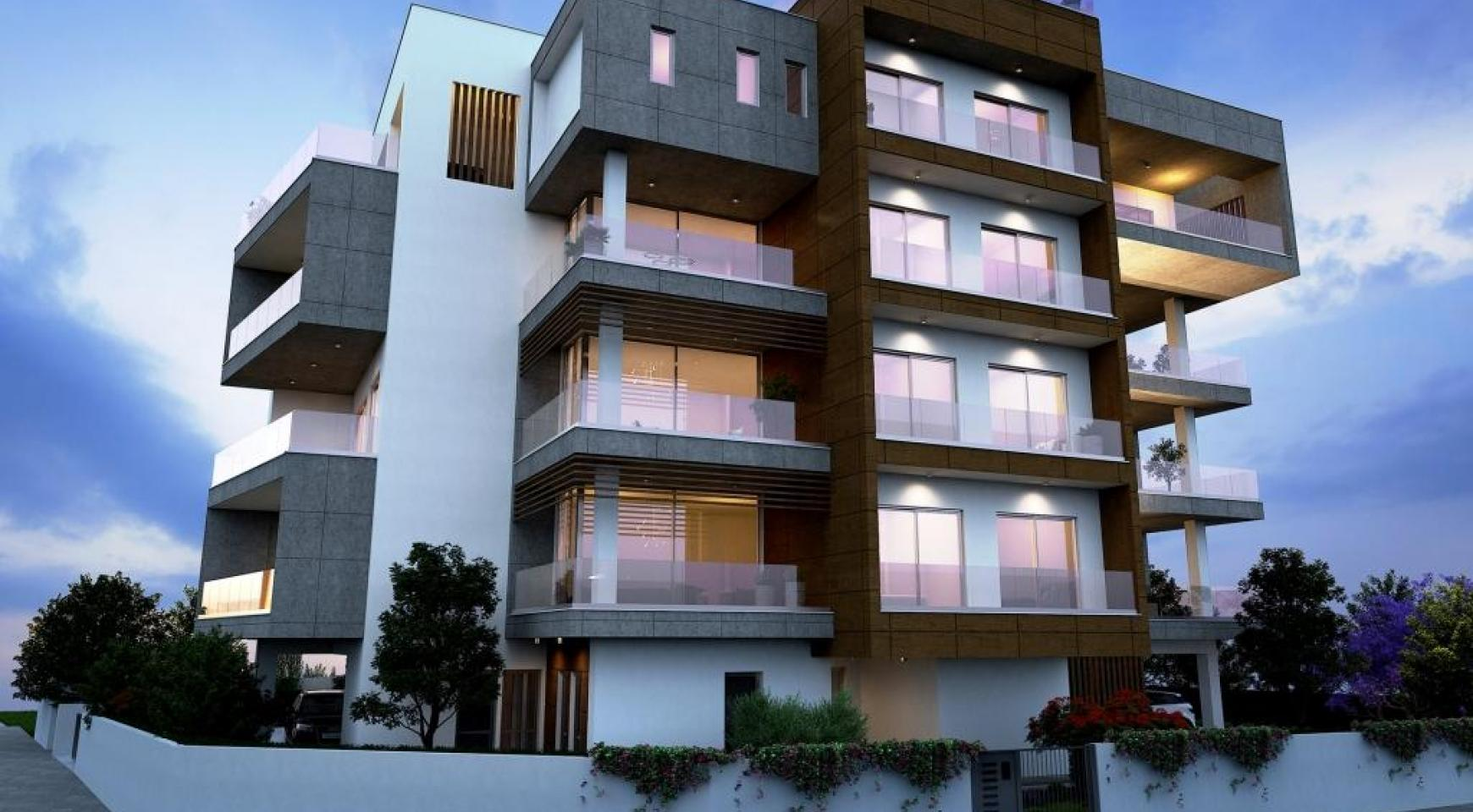 New Modern 2 Bedroom Apartment in Mesa Geitonia - 1