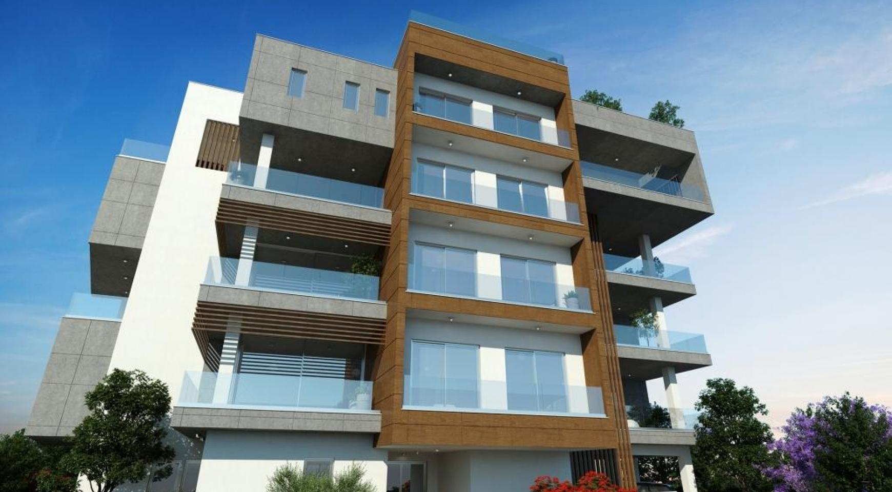 New Modern 2 Bedroom Apartment in Mesa Geitonia - 10