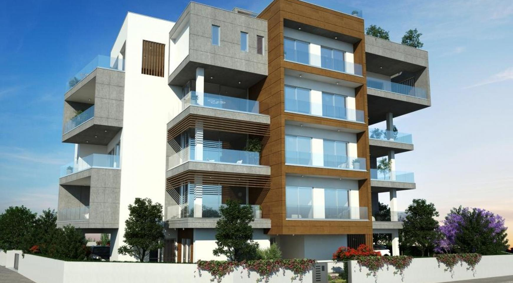 New Modern 2 Bedroom Apartment in Mesa Geitonia - 3