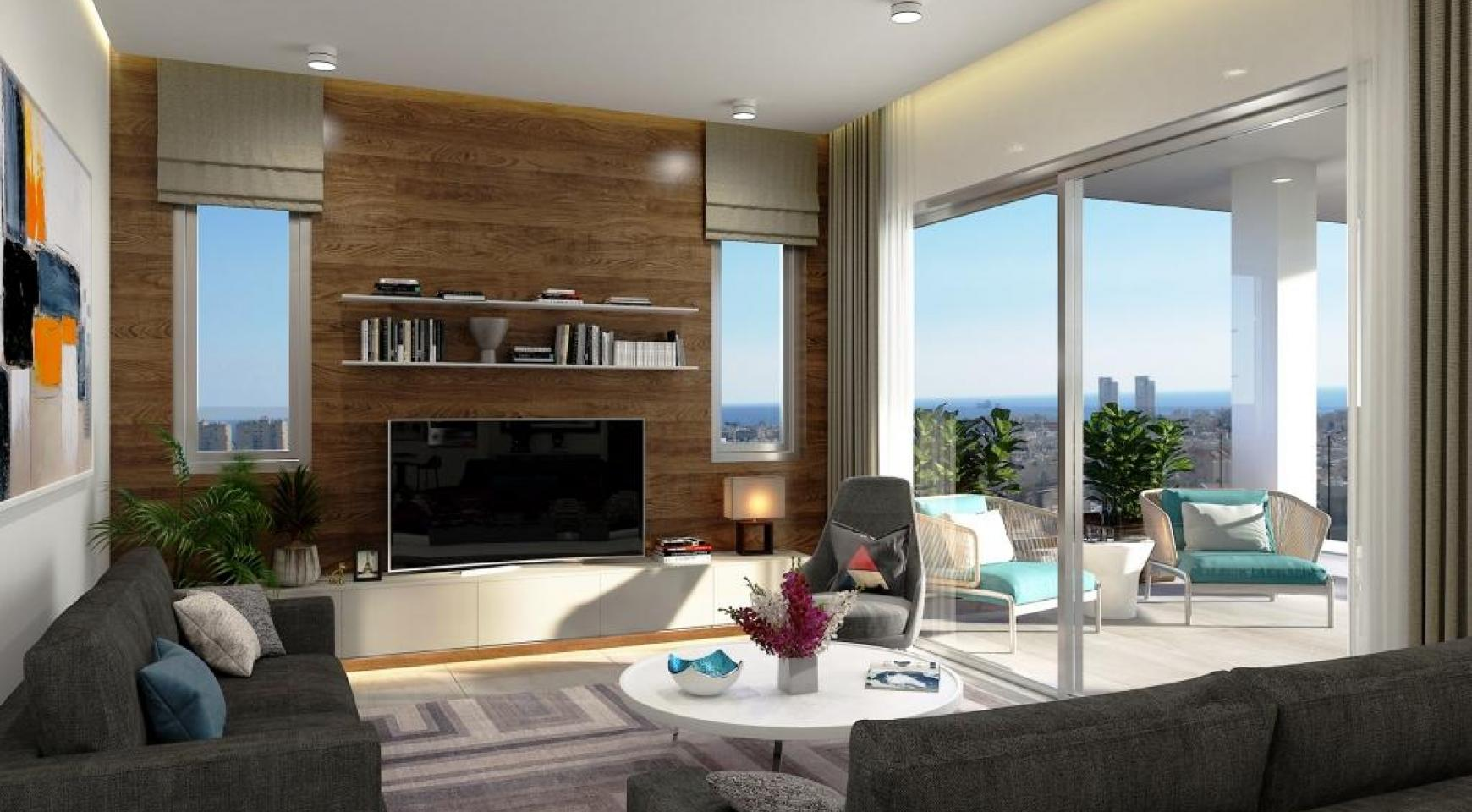 New 3 Bedroom Penthouse with the Swimming Pool  - 14