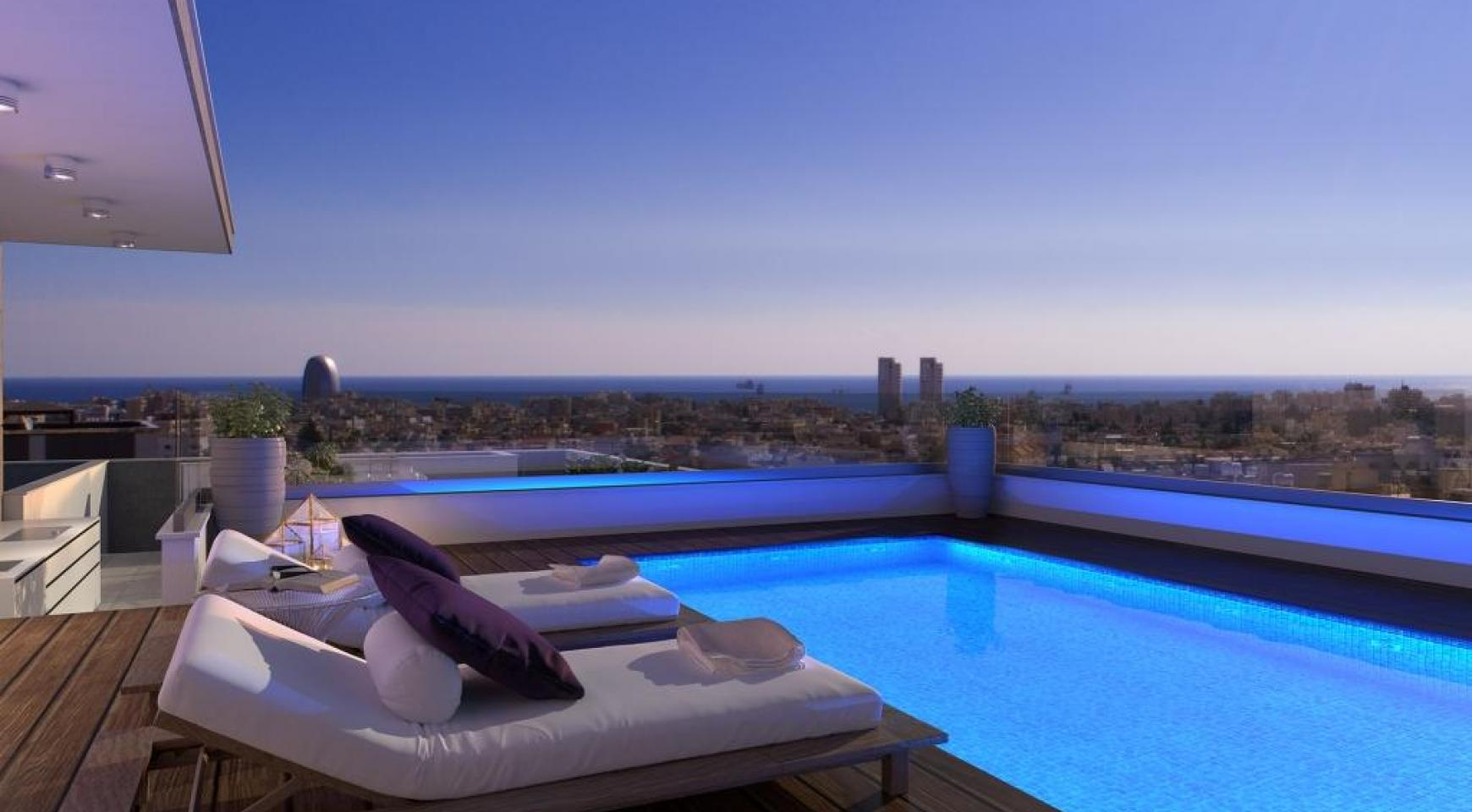 New 3 Bedroom Penthouse with the Swimming Pool  - 1