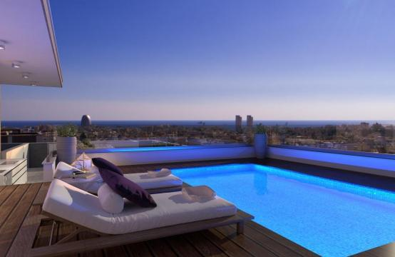 New 3 Bedroom Penthouse with the Swimming Pool