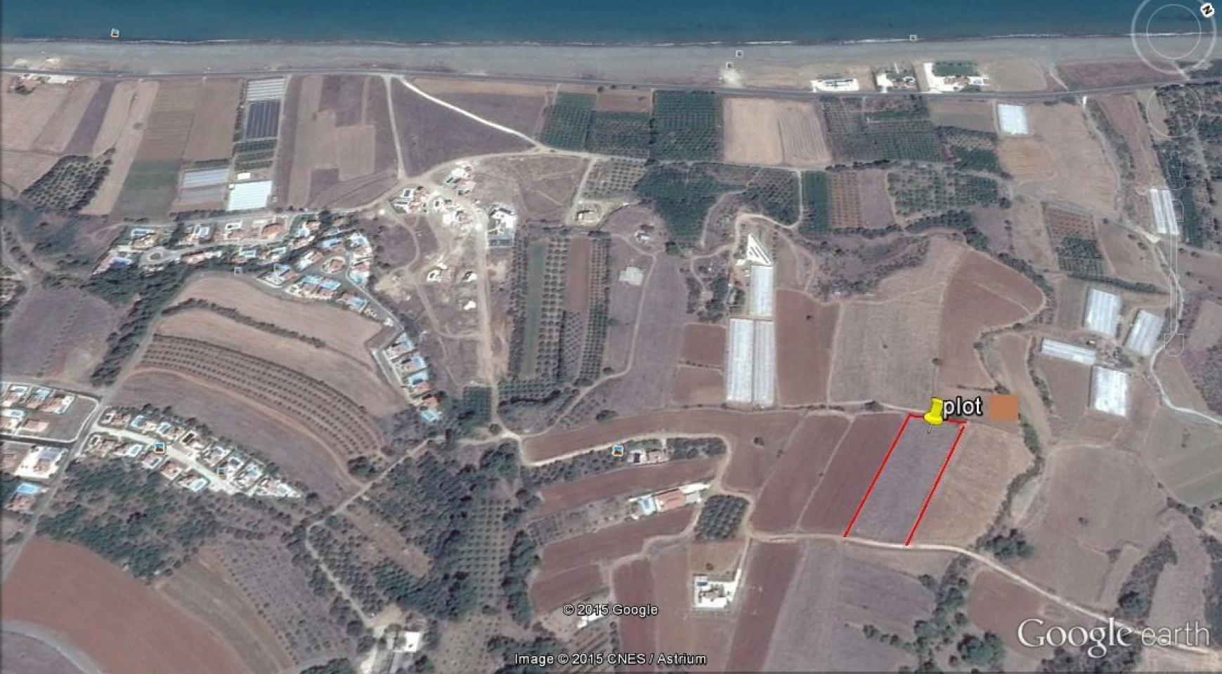 Large Building Plot near the Sea in Gialia Area - 2