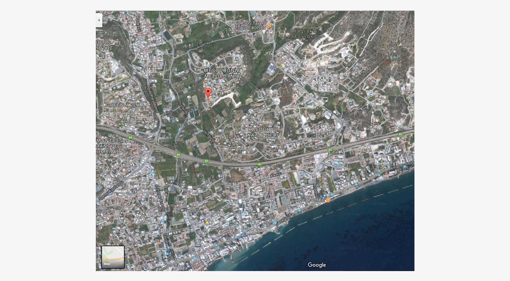 Large Building Plot with Unobstructed Sea Views in Mesovounia - 2