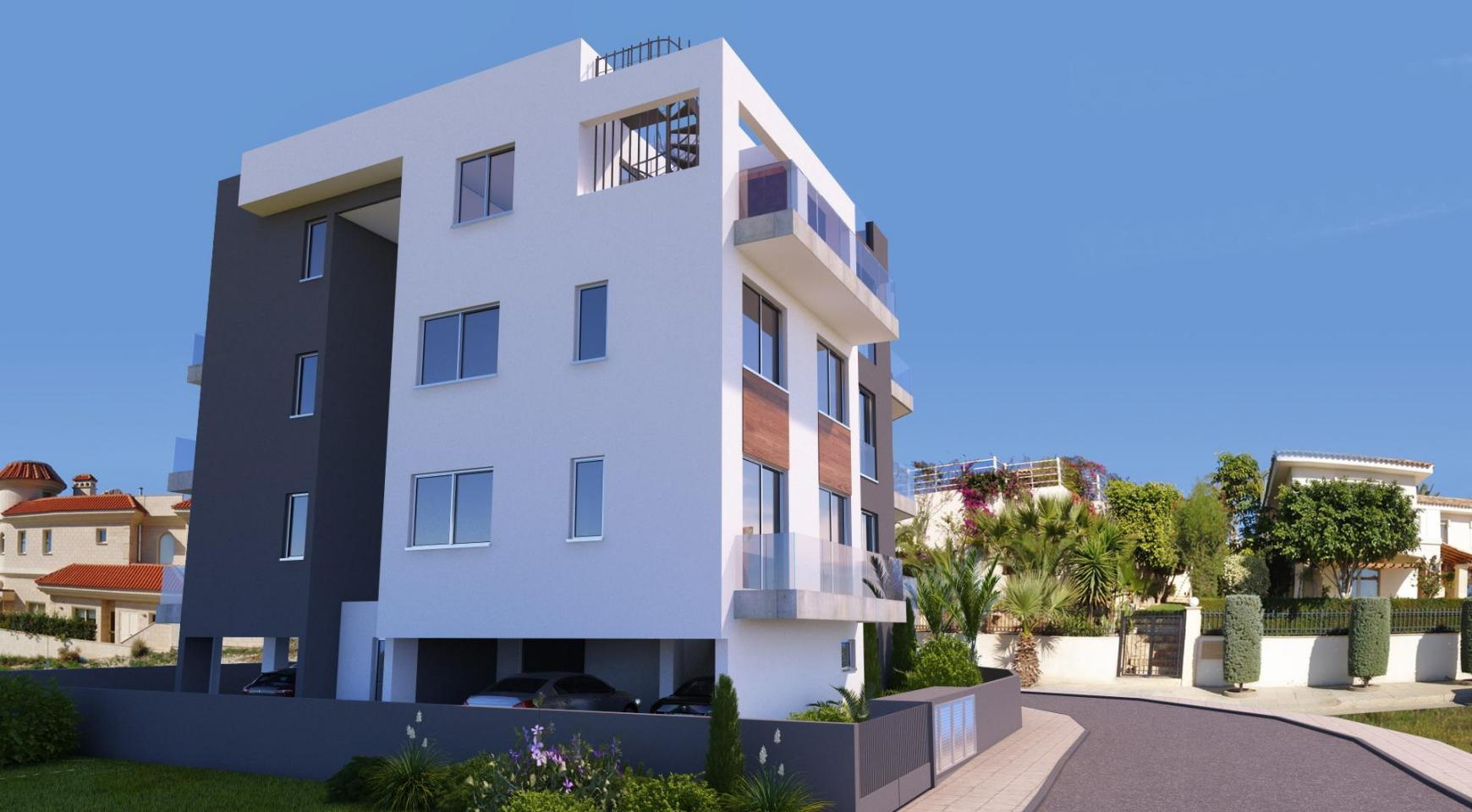 New 2 Bedroom Apartment in a Contemporary Building in Potamos Germasogeia - 5
