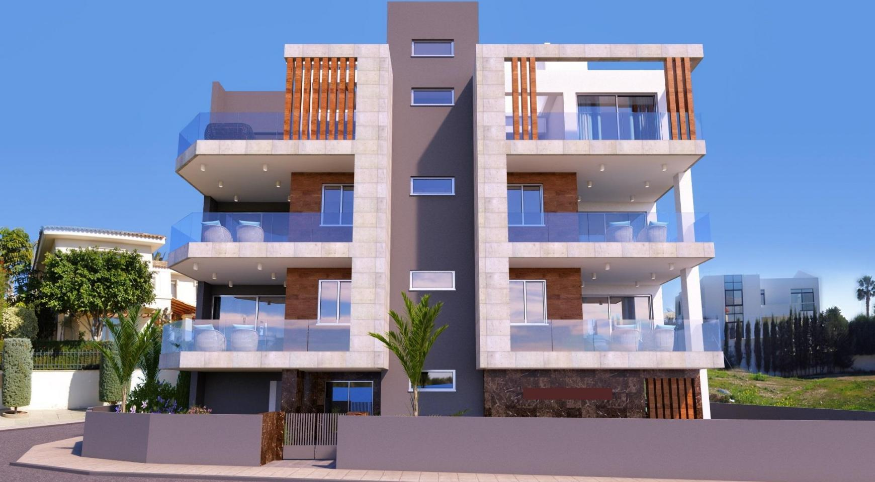 New 2 Bedroom Apartment in a Contemporary Building in Potamos Germasogeia - 3