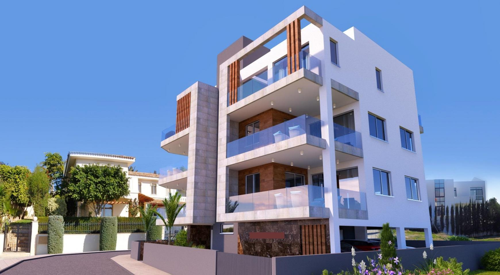 New 2 Bedroom Apartment in a Contemporary Building in Potamos Germasogeia - 2