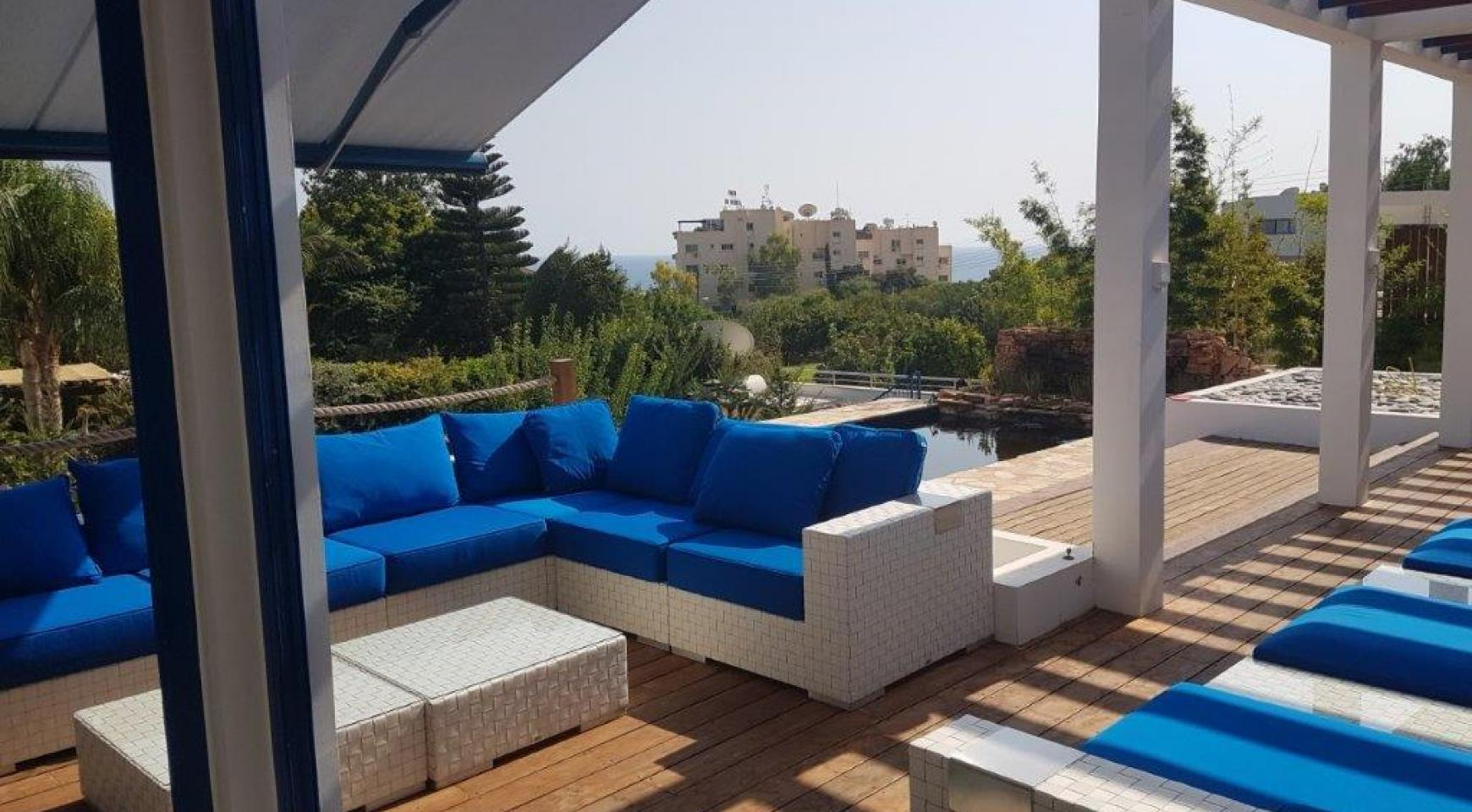 5 Bedroom Villa with Sea Views in Agios Tychonas Area - 5