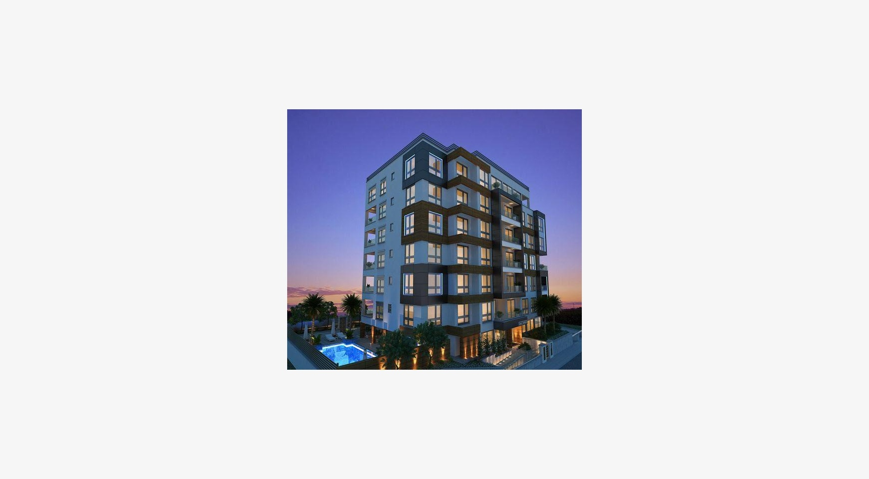 New Spacious One Bedroom Apartment in a Contemporary Complex near the Sea - 1