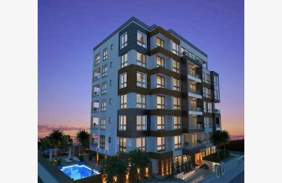 New Spacious One Bedroom Apartment in a Contemporary Complex near the Sea