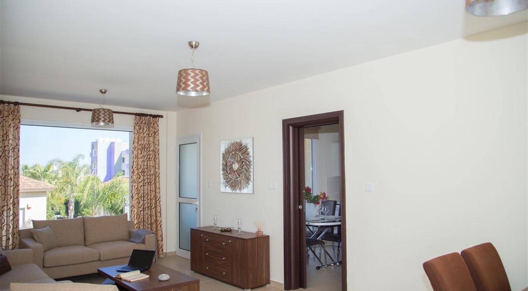 Μοντέρνο διαμέρισμα 2 υπνοδωματίων στην περιοχή Ποταμός Γερμασόγειας - 3