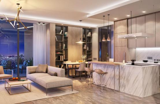 Contemporary 3 Bedroom Apartment in a New Complex near the Sea