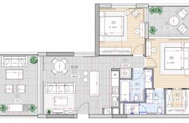 Contemporary 2 Bedroom Apartment in a New Complex near the Sea - 20