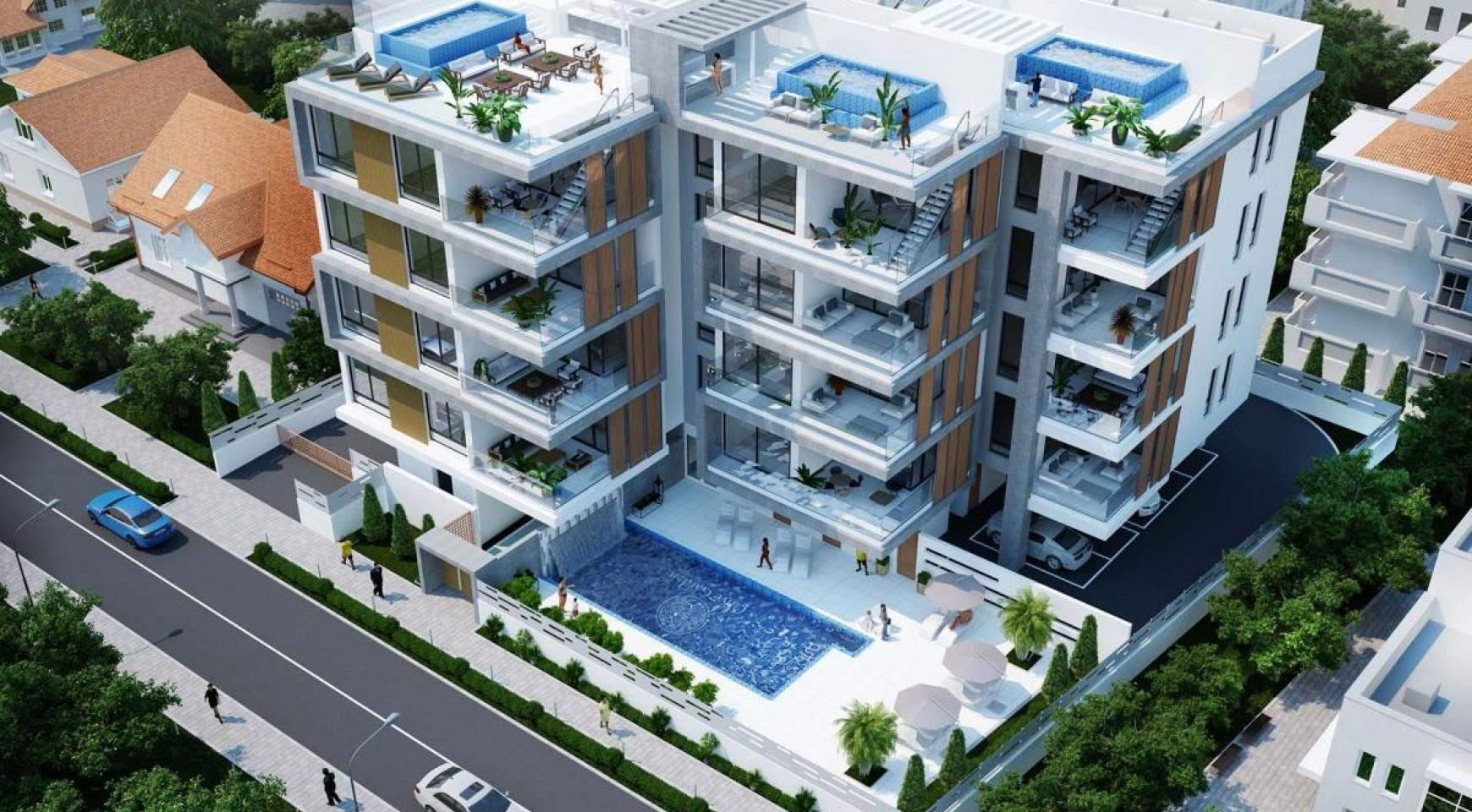 Contemporary 2 Bedroom Penthouse in a New Complex near the Sea - 8