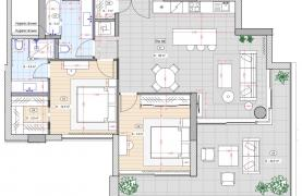 2 Bedroom Penthouse in a New Complex near the Sea - 19