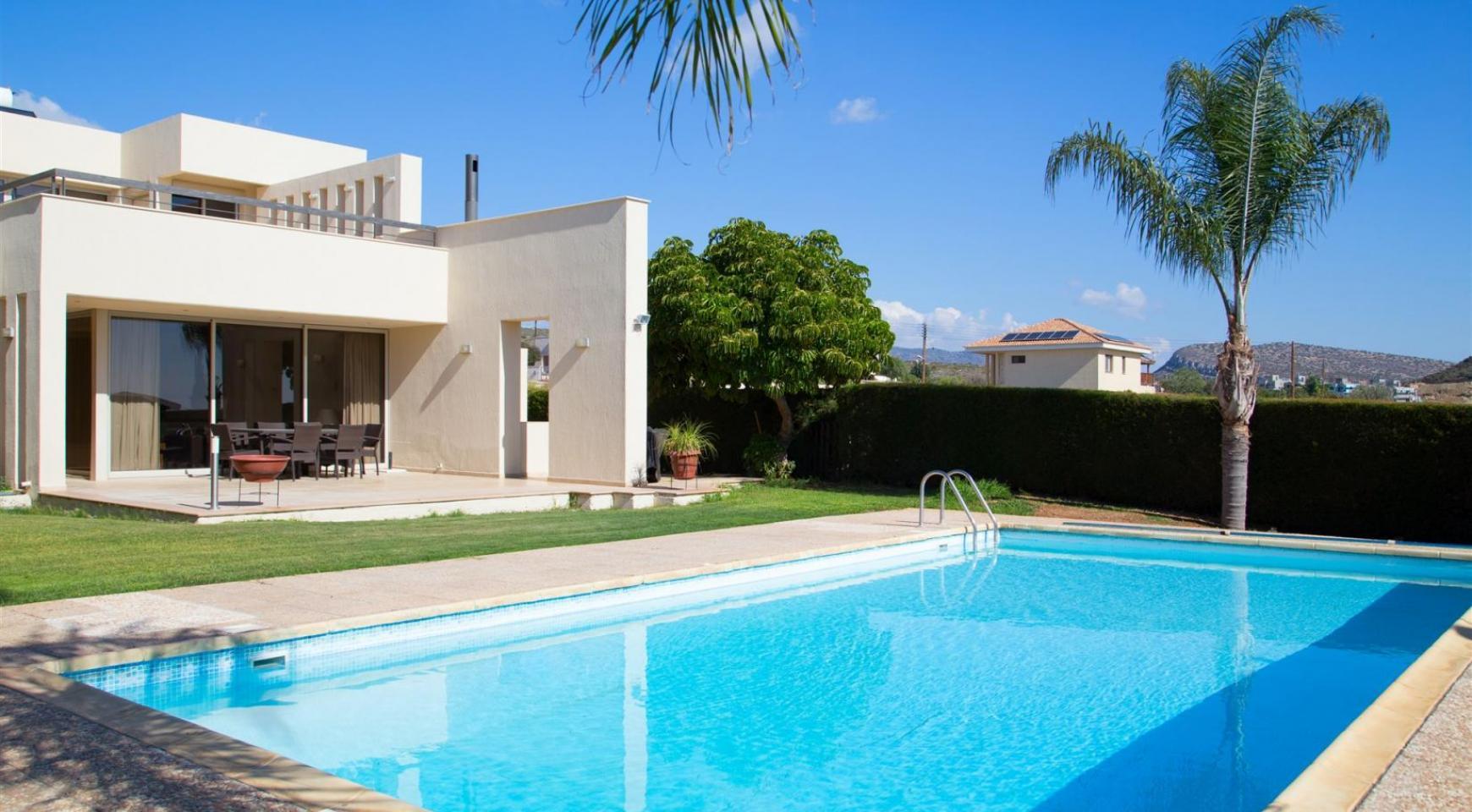 Modern Luxury 4 Bedroom Villa in Sfalagiotisa, Agios Athanasios - 4
