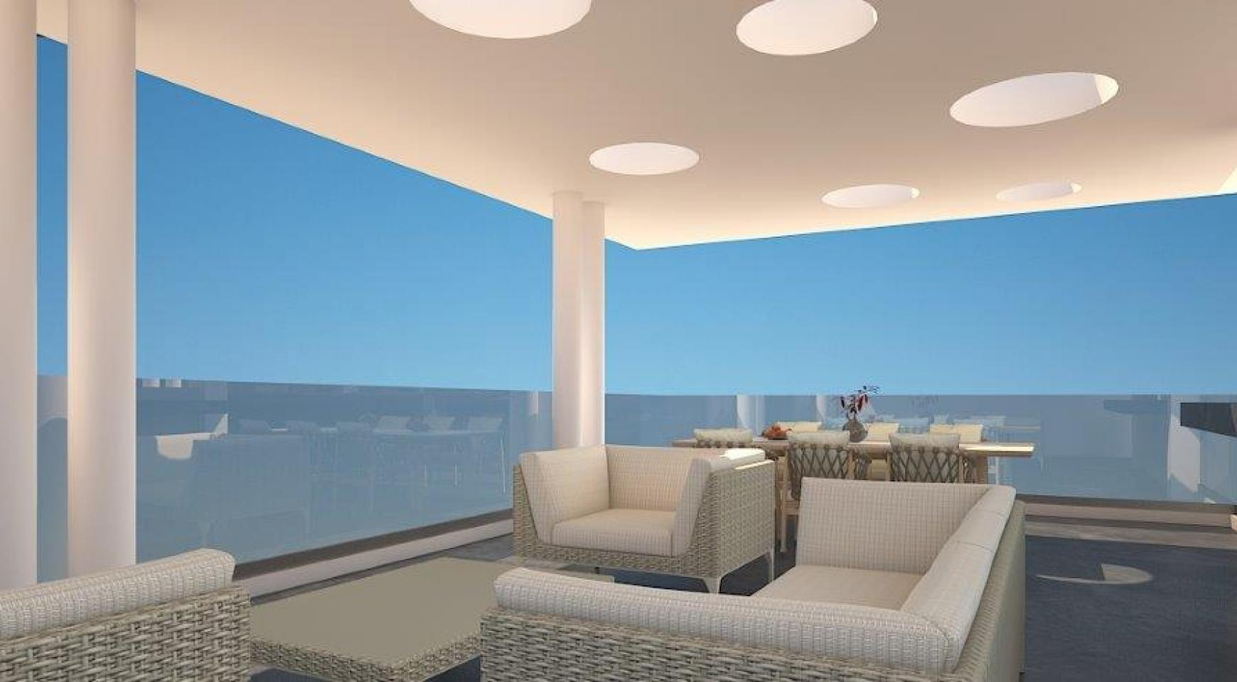 Modern 3 Bedroom Apartment in a New Complex in the City Centre - 2