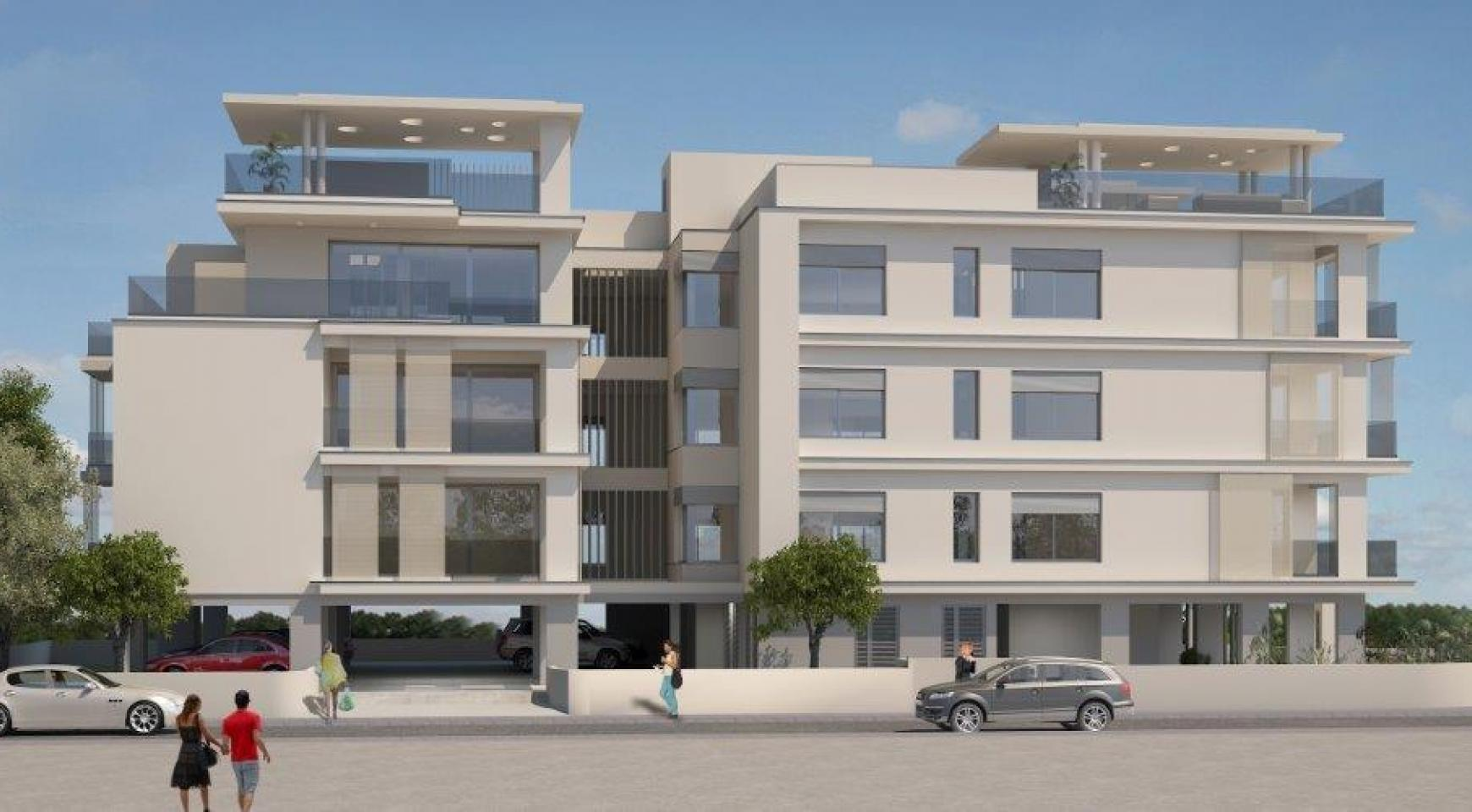Modern 3 Bedroom Penthouse in a New Building in the City Centre - 4