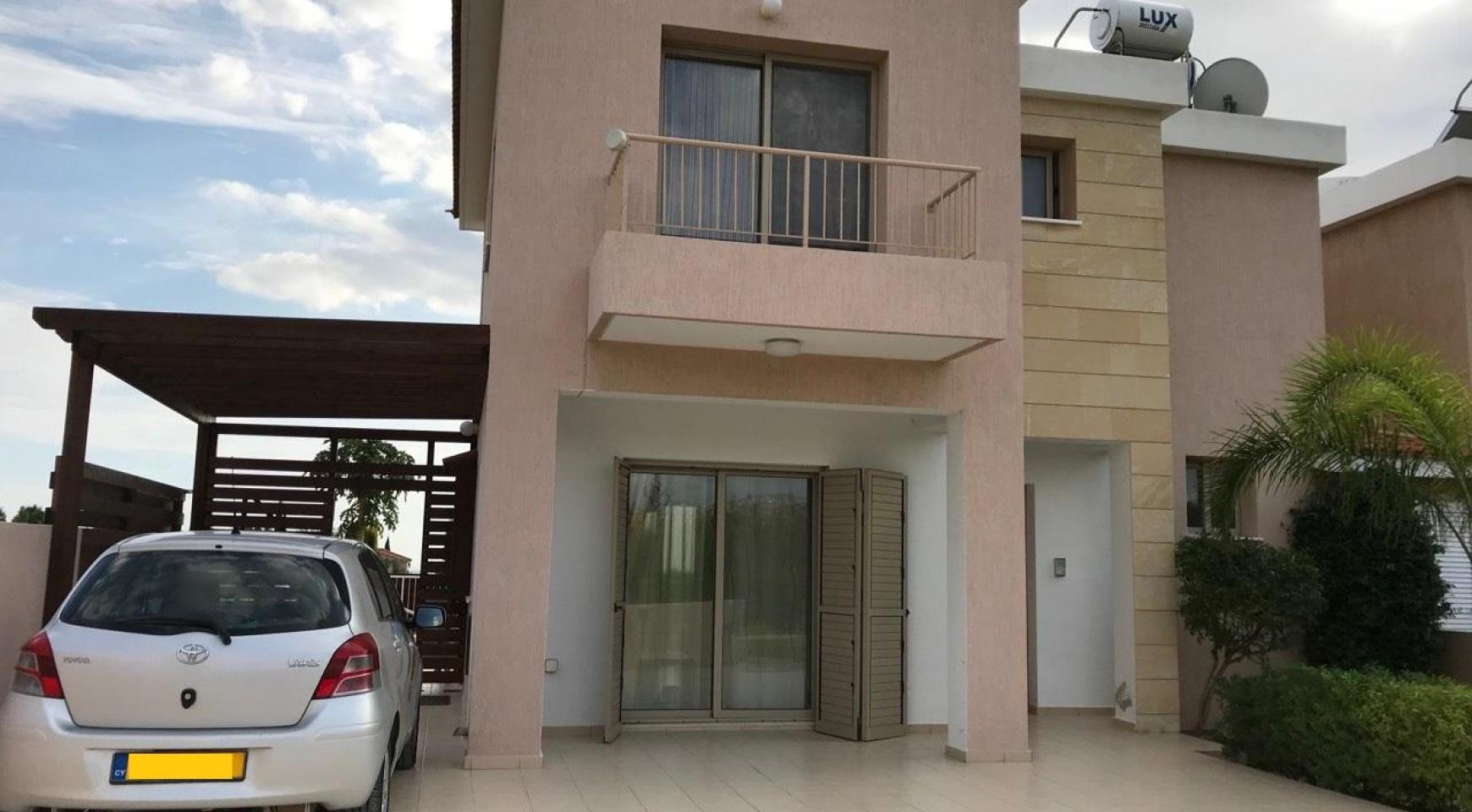 3 Bedroom Semi-Detached House with the Swimming Pool in Erimi Village - 3