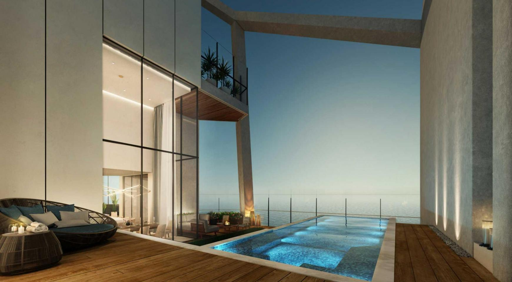 Sky Tower. One Bedroom Apartment 302 in a New Modern Complex near the Sea  - 30