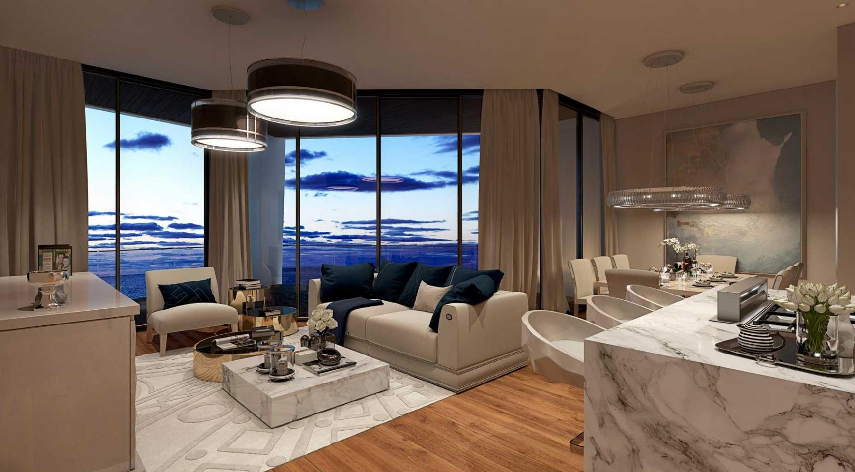 Sky Tower. One Bedroom Apartment 302 in a New Modern Complex near the Sea  - 26
