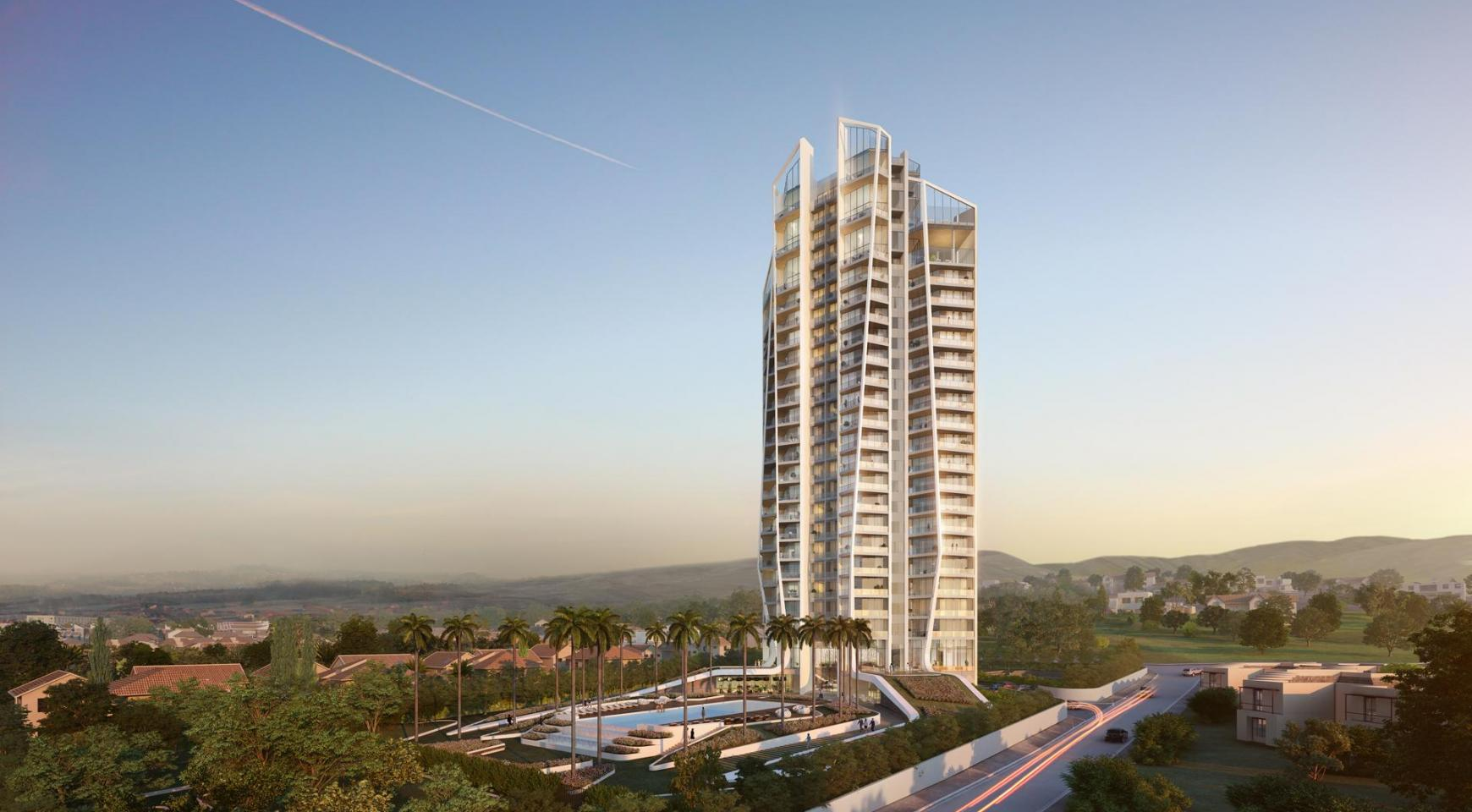 Sky Tower. One Bedroom Apartment 302 in a New Modern Complex near the Sea  - 13