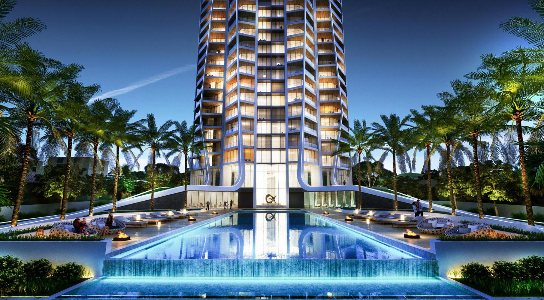 Sky Tower. One Bedroom Apartment 302 in a New Modern Complex near the Sea  - 2