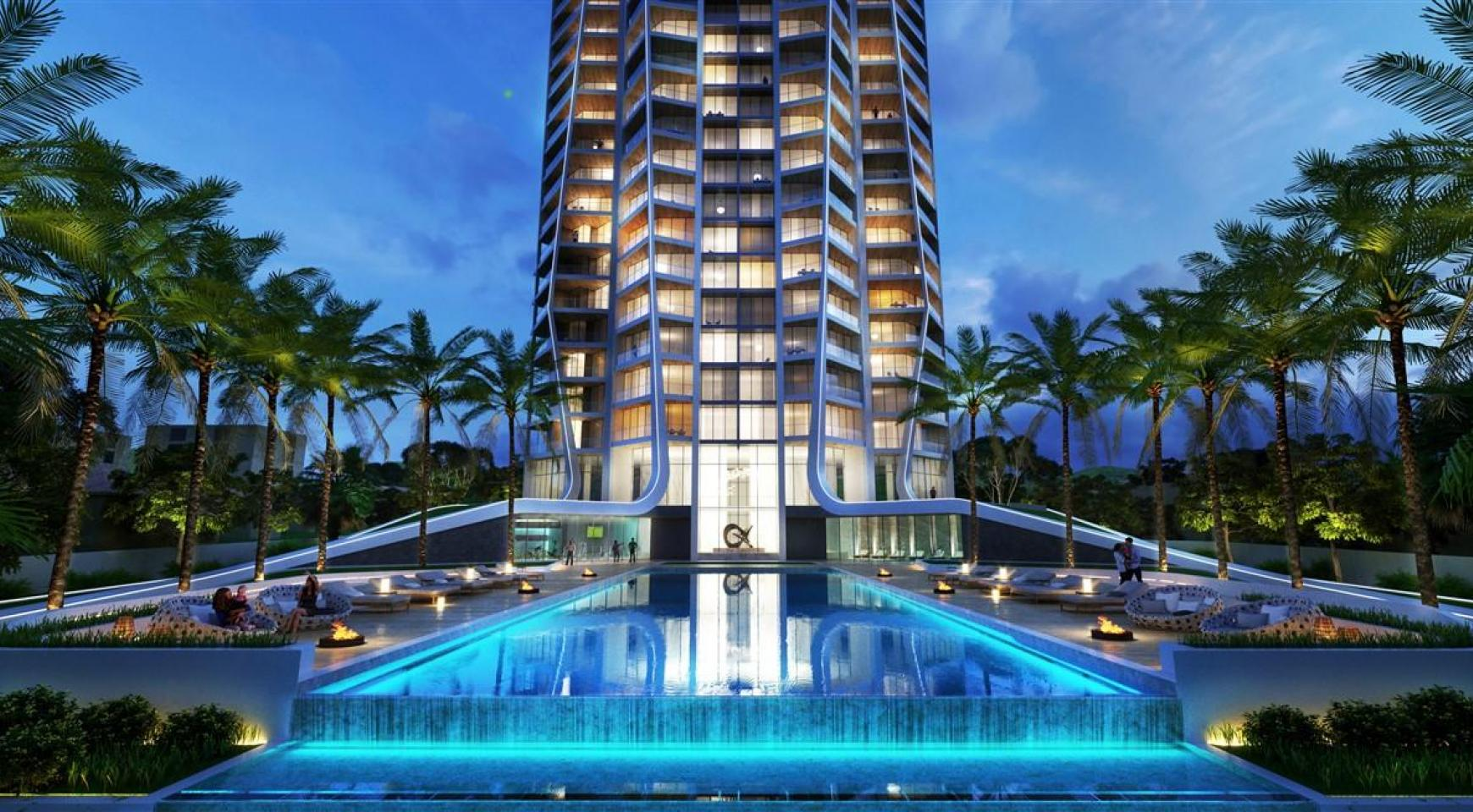 Sky Tower. One Bedroom Apartment 302 in a New Modern Complex near the Sea  - 1