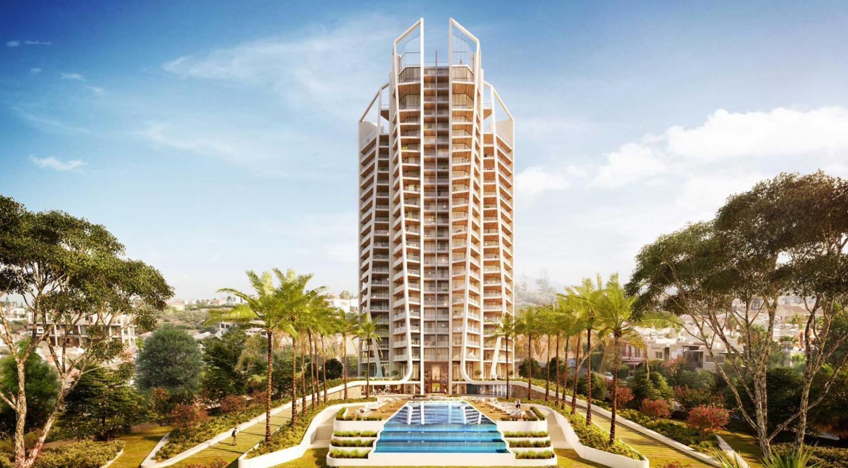 Sky Tower. One Bedroom Apartment 302 in a New Modern Complex near the Sea  - 9