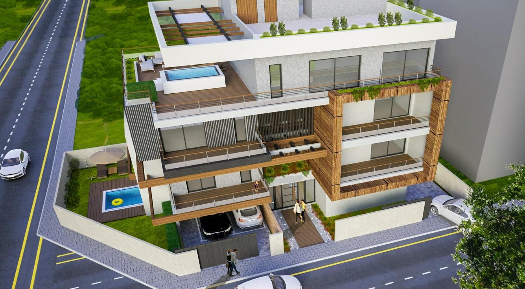 New 3 Bedroom Duplex Apartment in a Modern Building in Columbia Area - 1