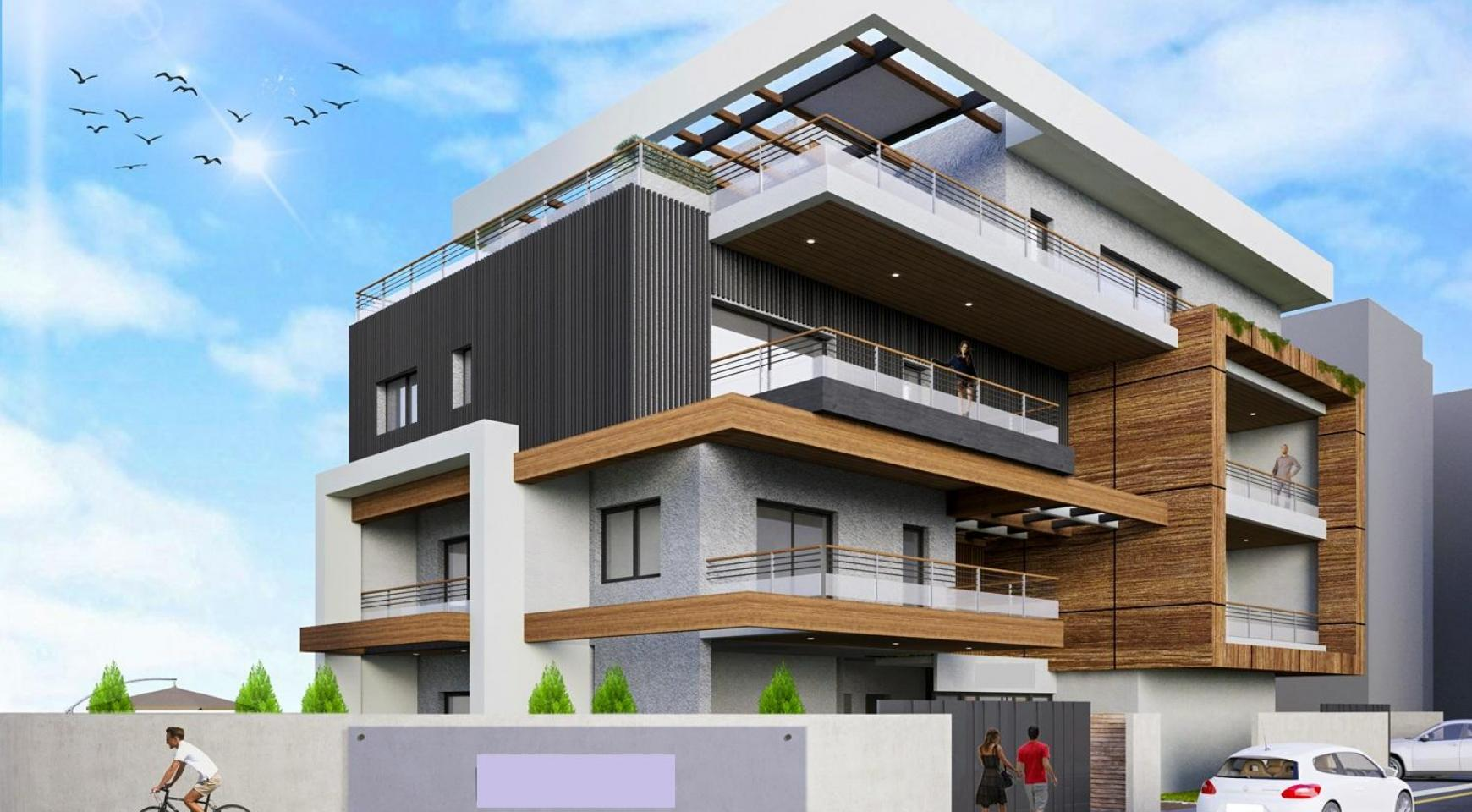 New 3 Bedroom Duplex Apartment in a Modern Building in Columbia Area - 3