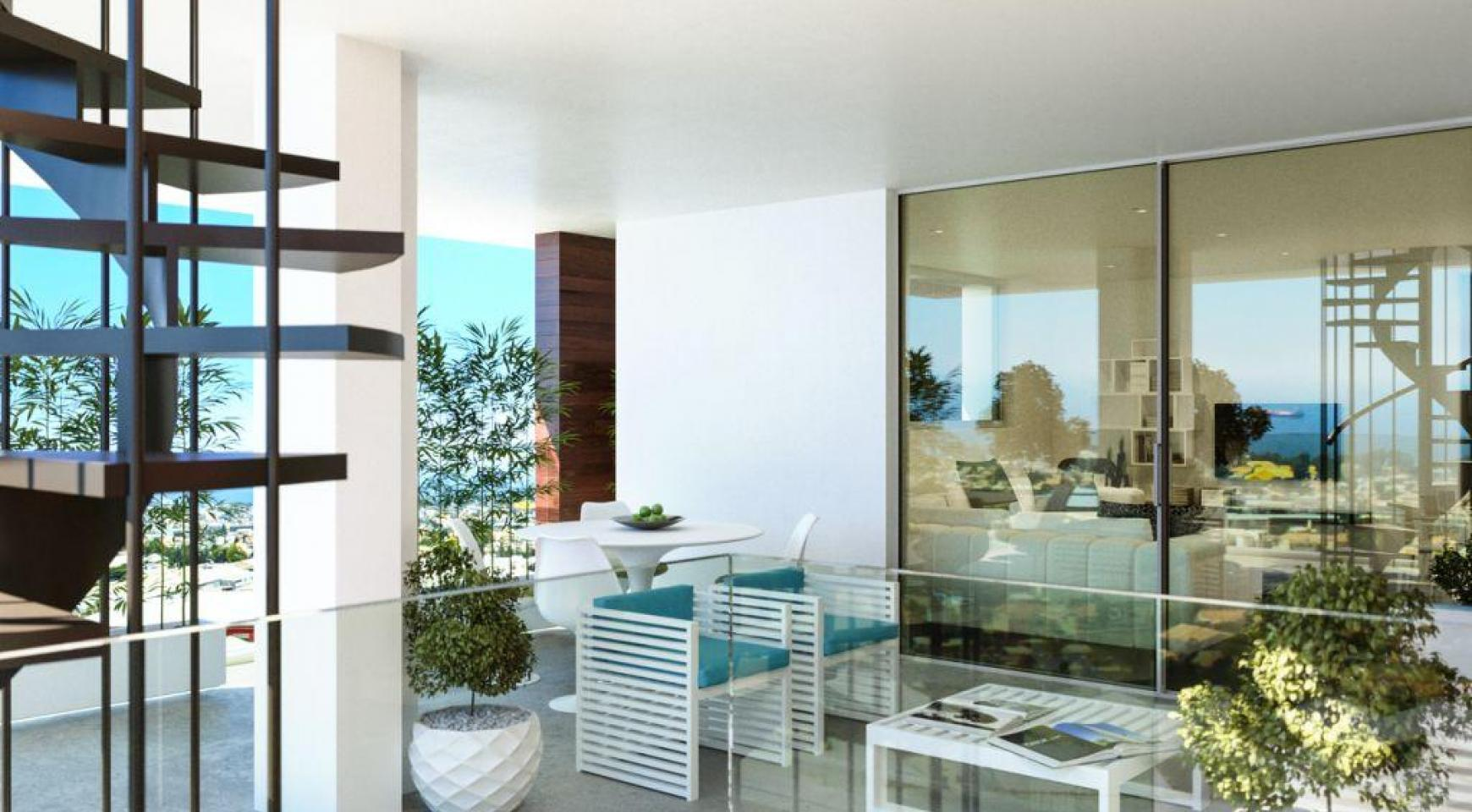 Contemporary 3 Bedroom Penthouse with a Private Swimming Pool - 5