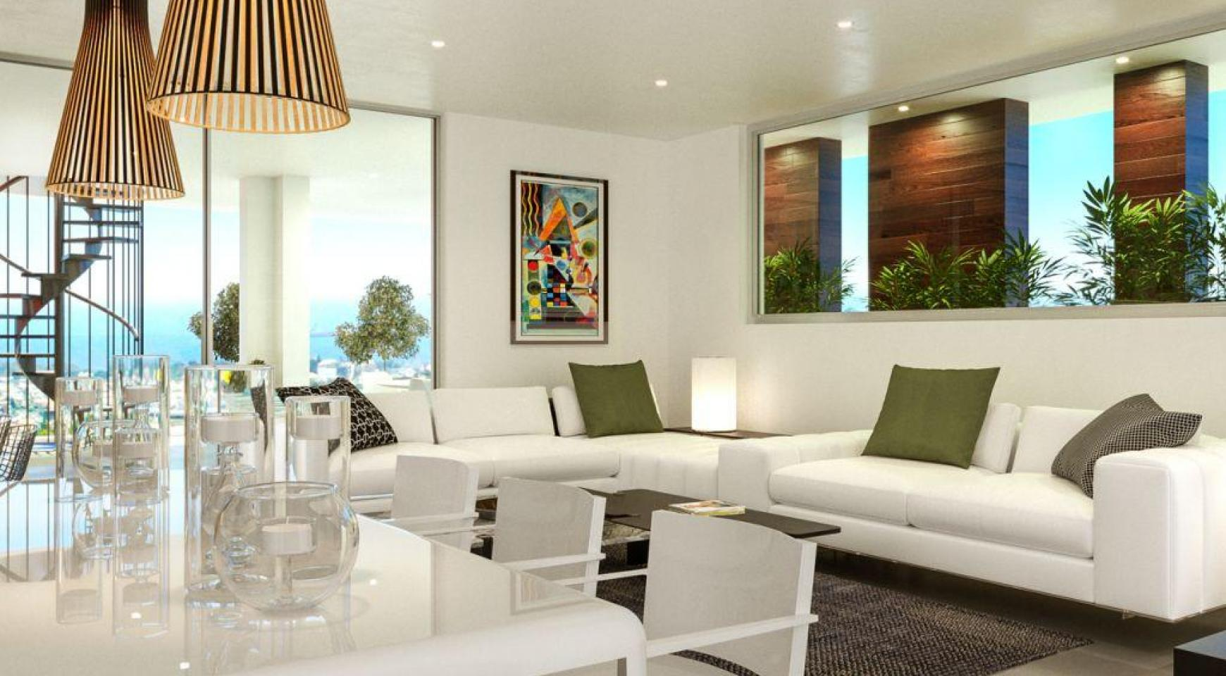Contemporary 3 Bedroom Penthouse with a Private Swimming Pool - 2