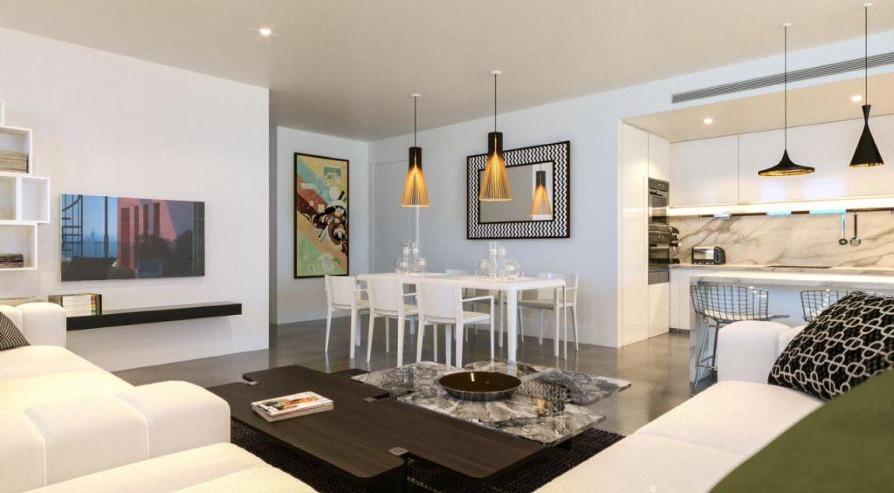 Contemporary 3 Bedroom Penthouse with a Private Swimming Pool - 3