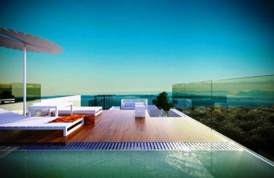 Contemporary 3 Bedroom Penthouse with a Private Swimming Pool