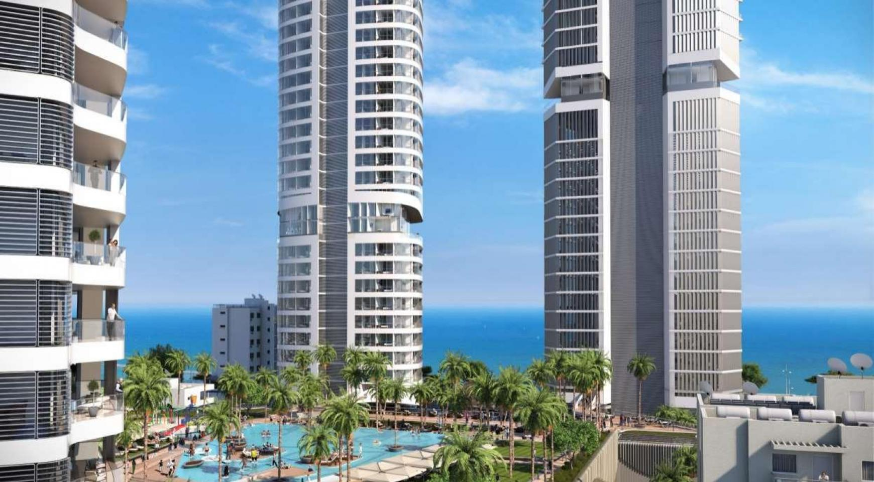Luxury 3 Bedroom Apartment in a New Project by the Sea in the City Centre - 1